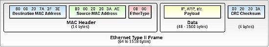 Ethernet Type II Frame
