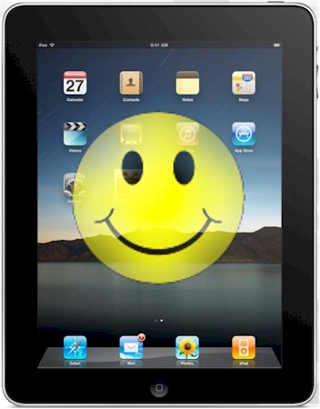 Happy iPad