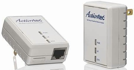 500 Mbps Powerline Network Adapter Kit