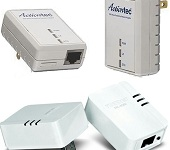 Actiontec PWR500 and TRENDnet TPL-406E2K 500 Mbps Powerline AV kits