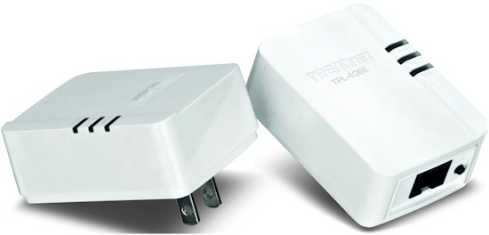 500 Mbps Compact Powerline AV Adapter Kit