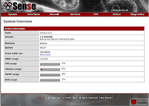 pfSense System Overview