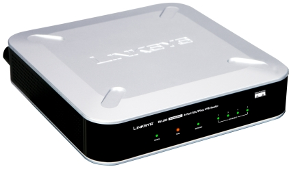 Linksys RVL200 4-Port SSL/IPSec VPN Router