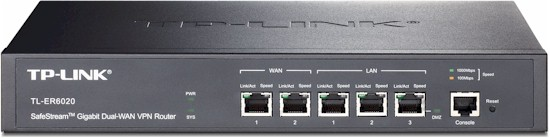SafeStream Gigabit Dual-WAN VPN Router