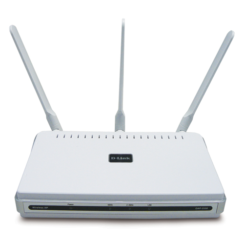 D-Link DAP-2555 AirPremier N Dual Band, PoE Access Point powered by CloudCommand