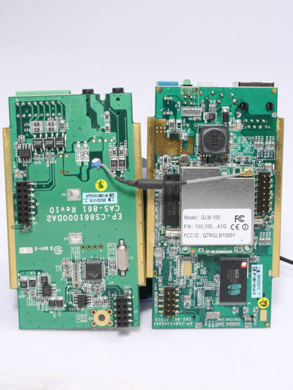 TV-IP301W View with Two Circuit Boards