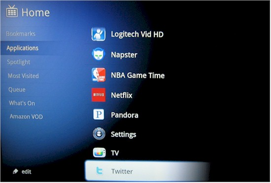 Rest of the Google TV apps