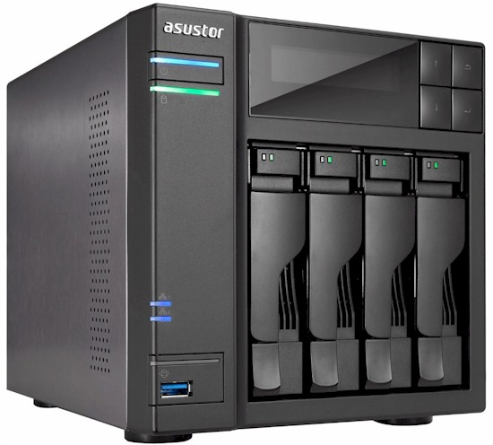 4-bay Network-attached Storage Server