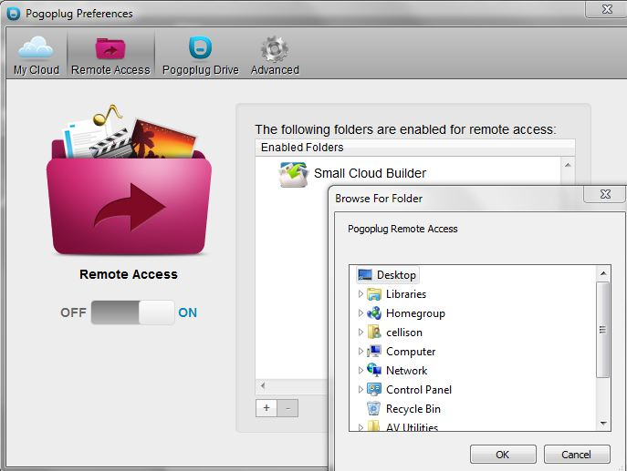 Remote access enable