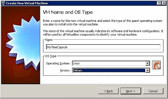 Creating the Virtual Machine