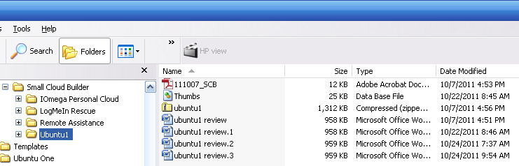File revisions are stored in the same directory as the original file