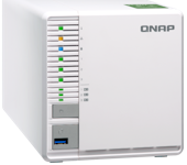 QNAP TS-332X Three Bay 10GbE NAS Reviewed - Click for review
