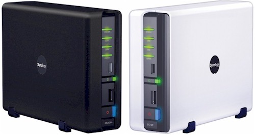 Synology DS109+ and DS109 Disk Stations