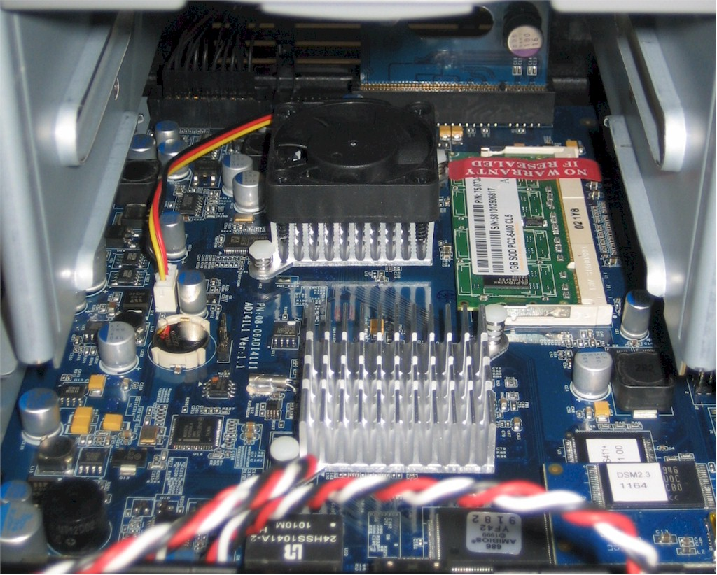 Synology DS411+ DiskStation board