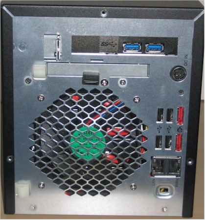 N4200 rear panel - actual product