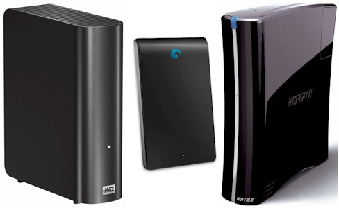 USB 3.0 Drives from WD, Buffalo & Seagate