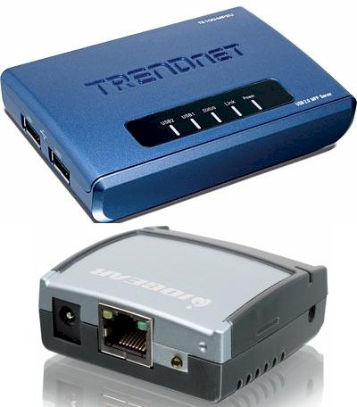 Trendnet TE100-MP2U and IOGEAR GUIP201