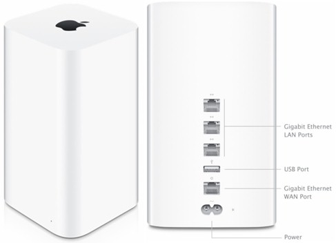 Apple AirPort Extreme (ME918LL/A - draft 802.11ac)