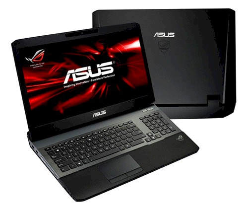 >ASUS ROG G75VW gaming notebook