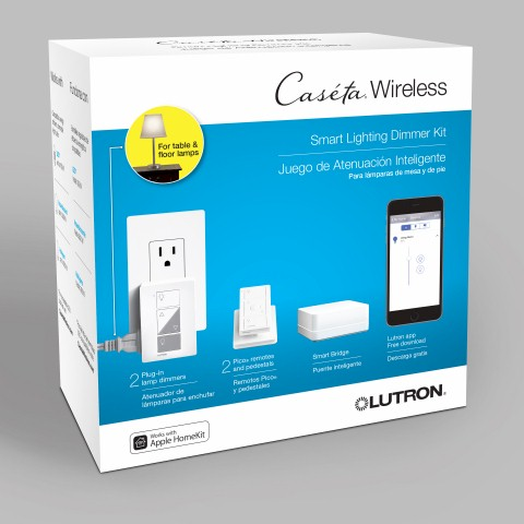 Lutron Caséta Wireless Lighting Starter Kit