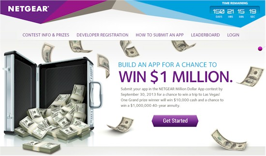 NETGEAR Million Dollar App Contest