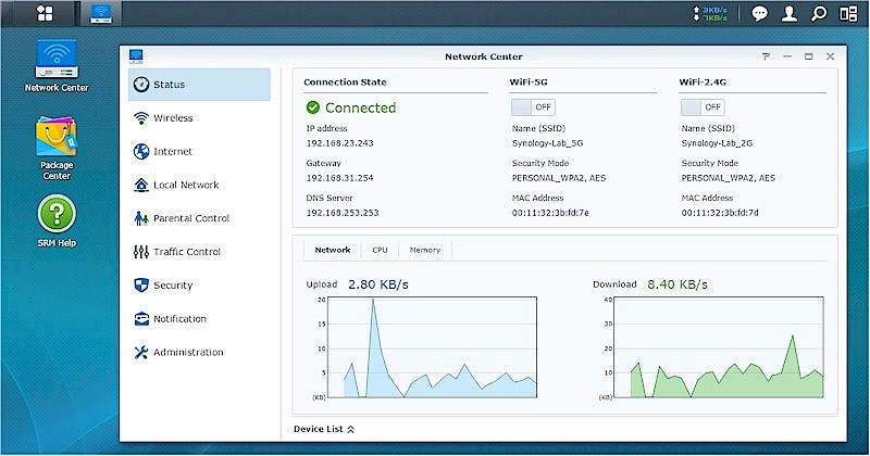 Synology Router Manager