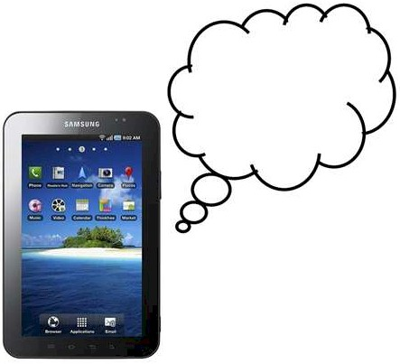 Tablets Are Made For The Cloud