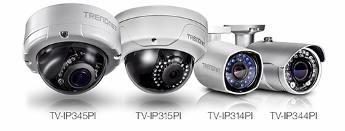 TRENDnet 4MP Surveillance Cameras