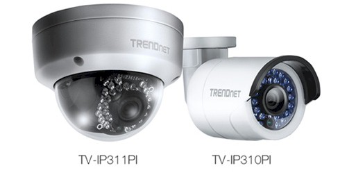 TRENDnet TV-IP311PI & TV-IP310PI IP cameras