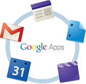 Verizon Google Apps logo