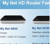 WD My Net router family