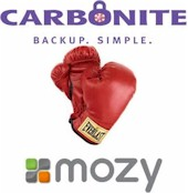 Carbonite vs. Mozy
