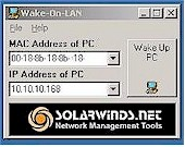 SolarWinds Wants to Wake up your LAN