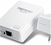 TRENDnet TPL-401E2K 500 Mbps Powerline AV Adapter Kit