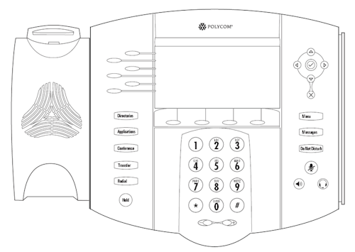 Phone controls and display