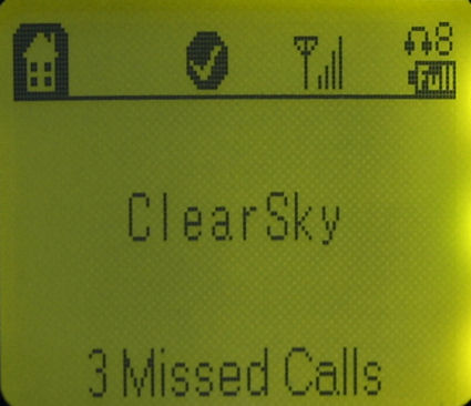 ClearSky Main Screen