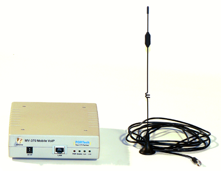 Portech MV-370 with antenna