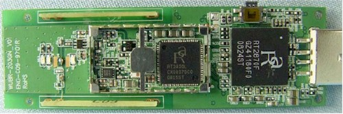 N+ Wireless USB Adapter board