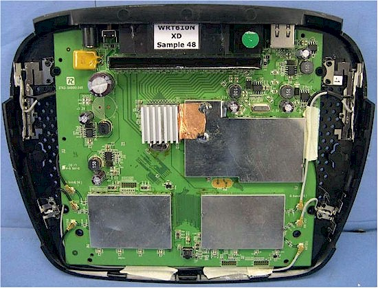 WRT610N inside view
