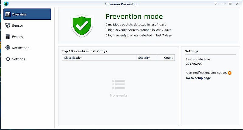 Intrusion Protection add-on package