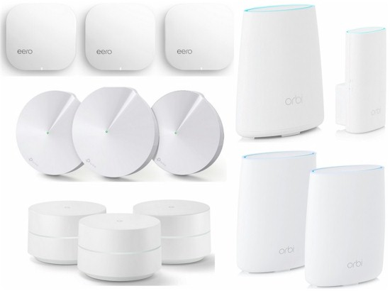 Wi-Fi System Roundup Products