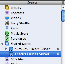 Figure 6: iTunes Client
